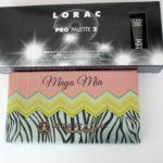 Lorac Pro Palette 2 and Anastasia's Maya Mia palette First Impression