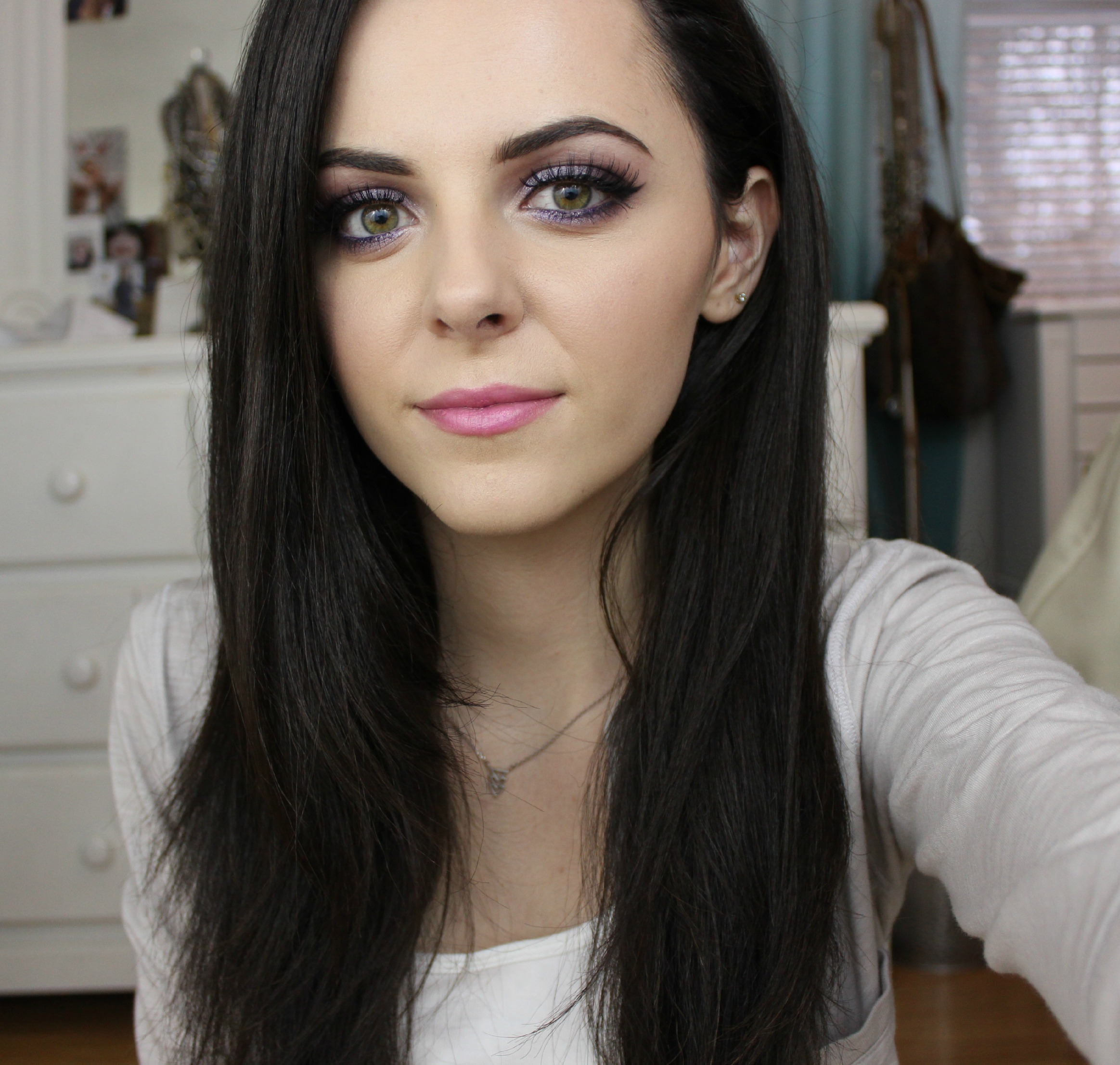 Fun Purple Eye Look!
