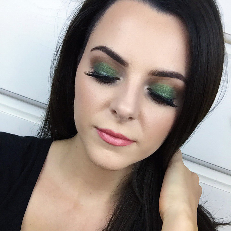 Wearable Green Eyeshadow
