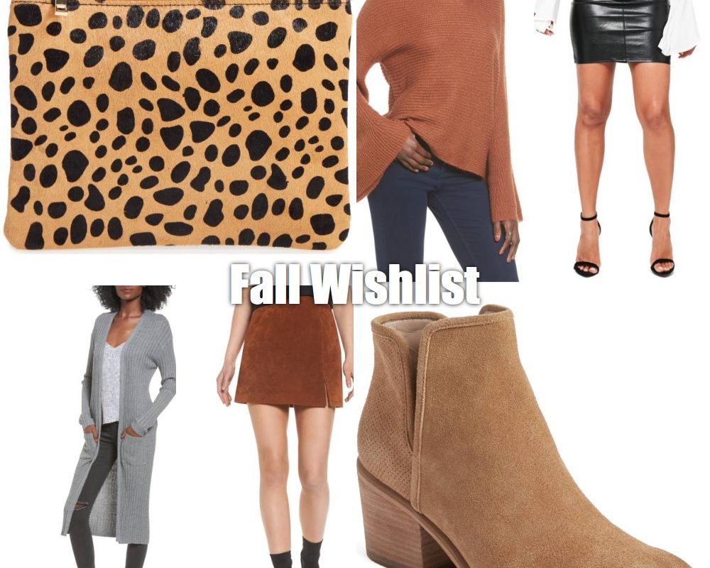 Fall Wishlist