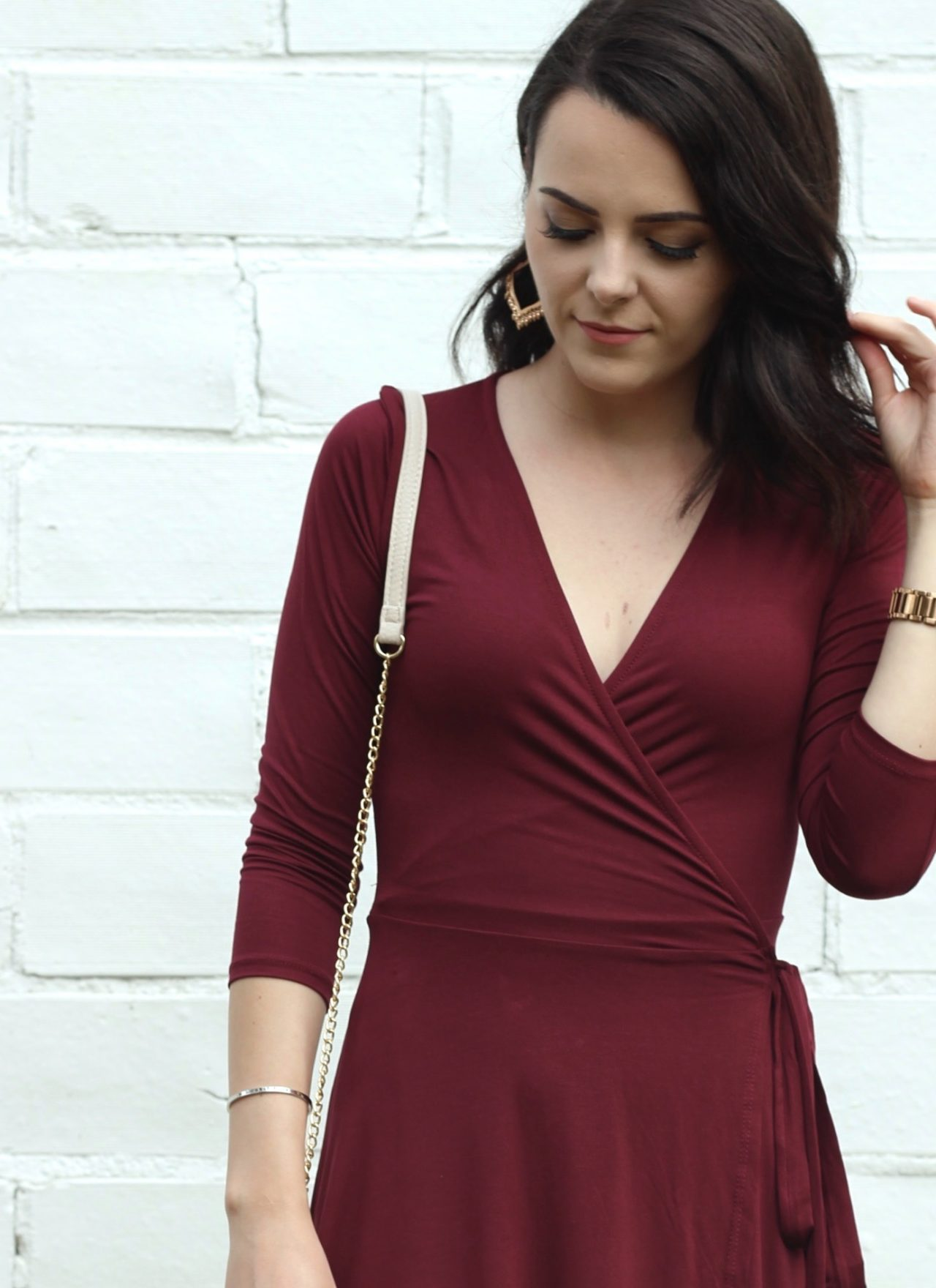Wrap Dress : Wedding Guest Outfit