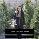 J Crew Chateau Parka : OOTD