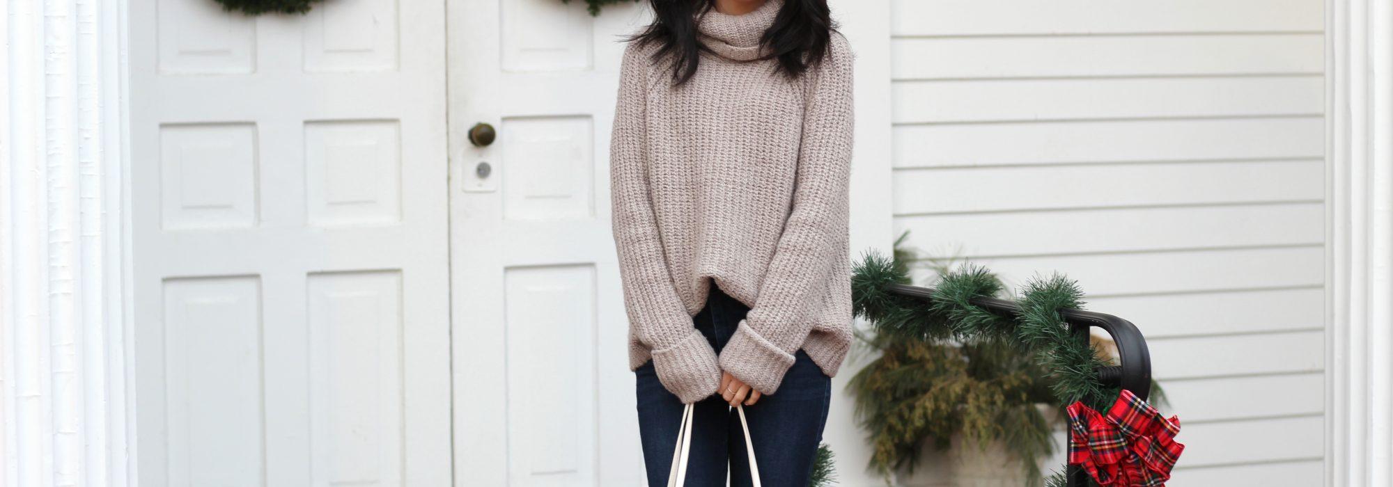 Oversized Turtleneck Sweaters