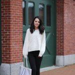 Balloon Sleeve Sweater : OOTD