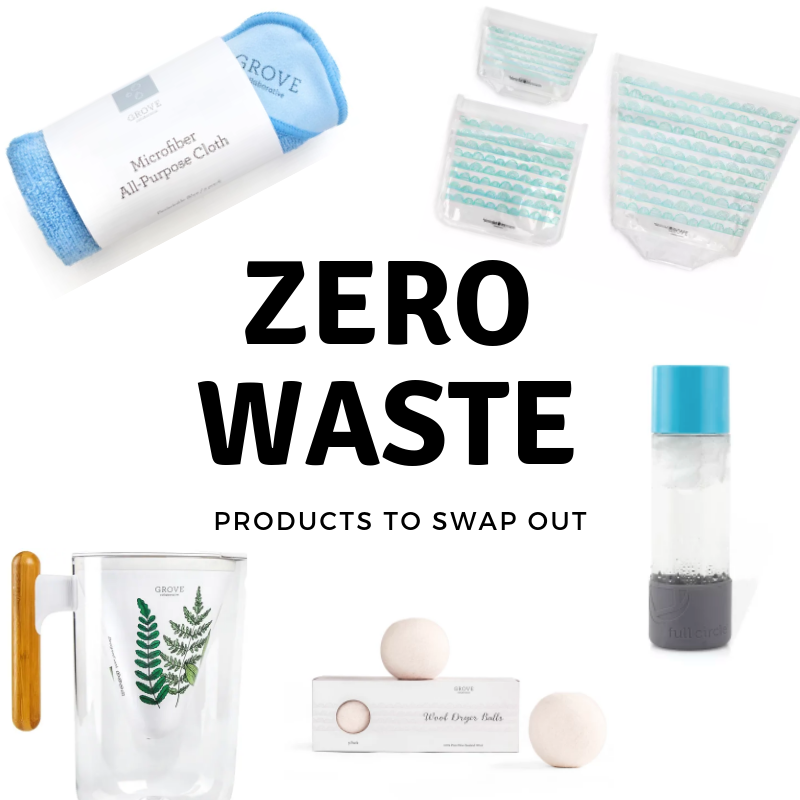 Zero Waste Products - Products to Swap Out