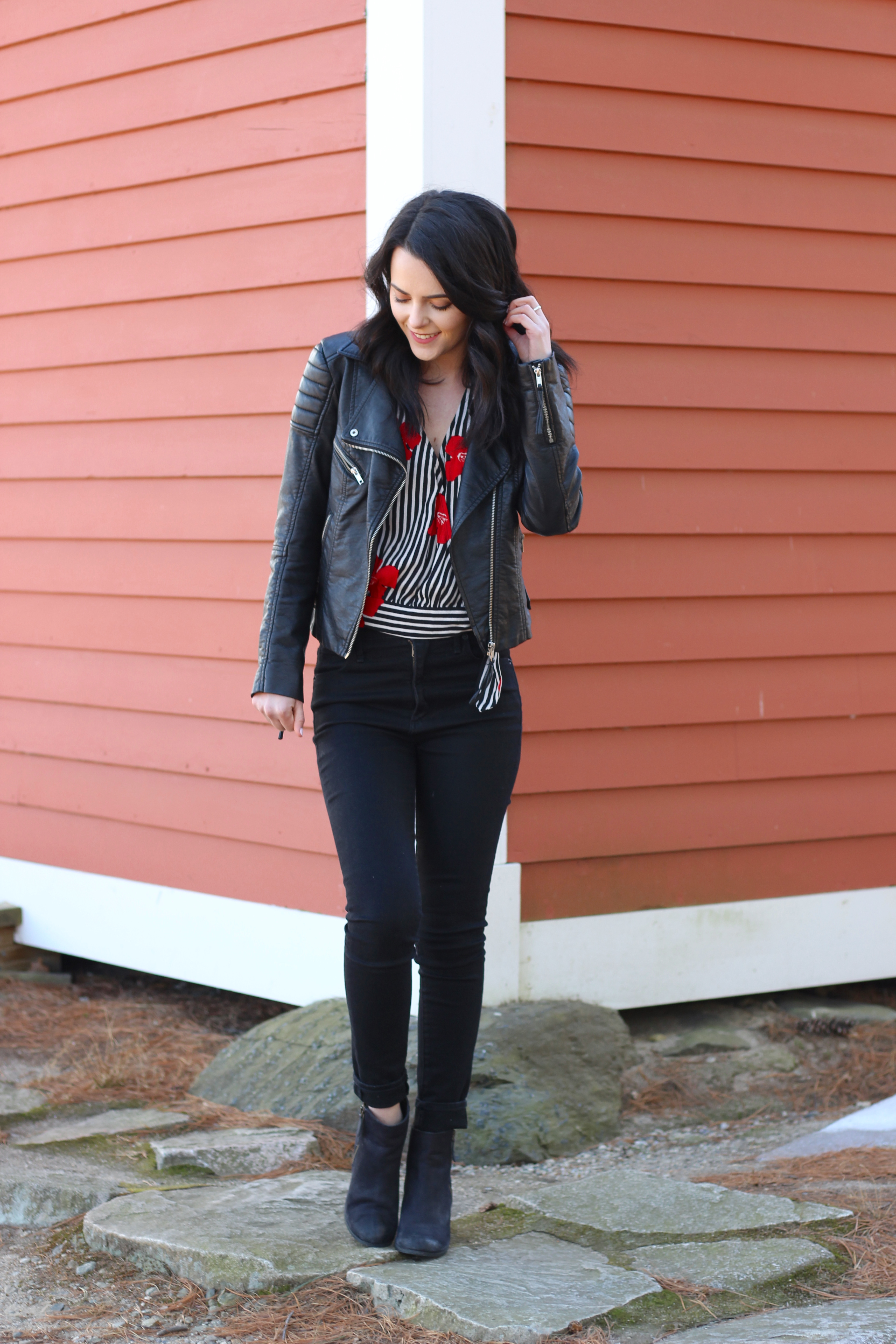 Valentine's Day Outfit + Easy Dessert