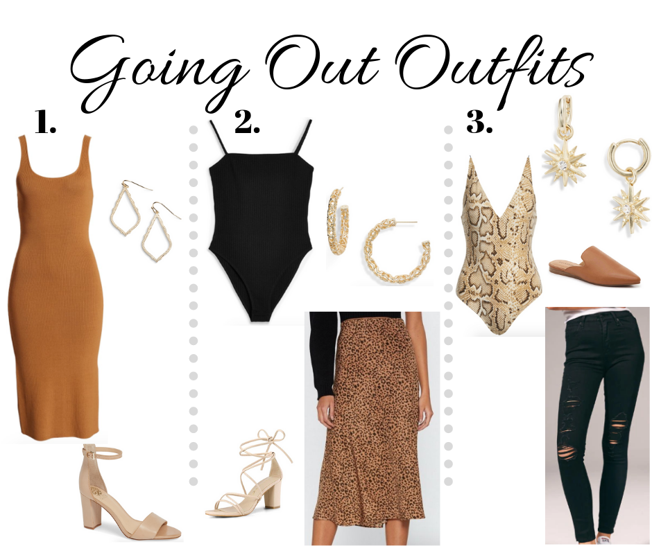 3 going out outfits