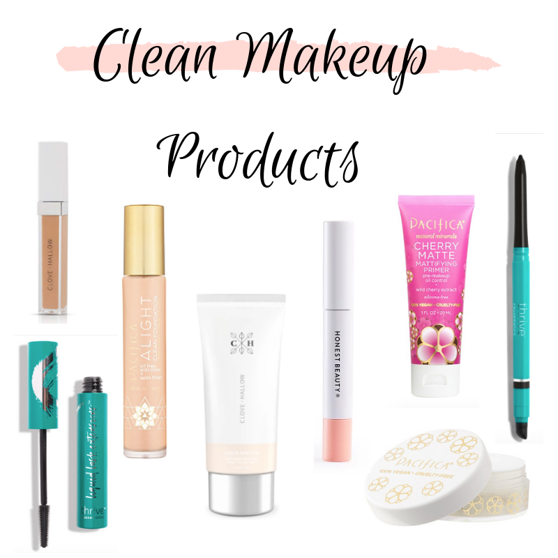 Clean Makeup Products I Have Tried