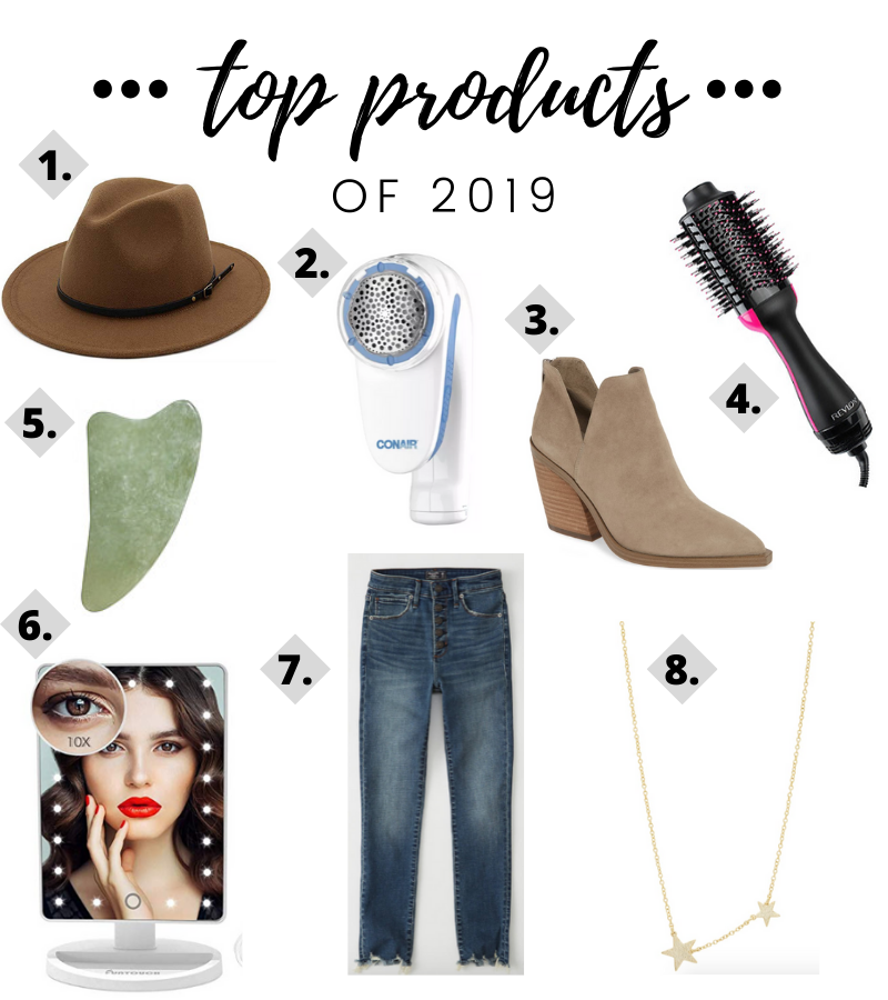 top products of 2019